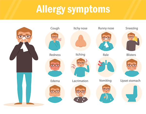 Infographic: what allergies do