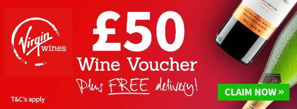 Vine wine £50 voucher off and free delivery