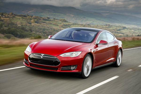 Fleet executive Tesla model S