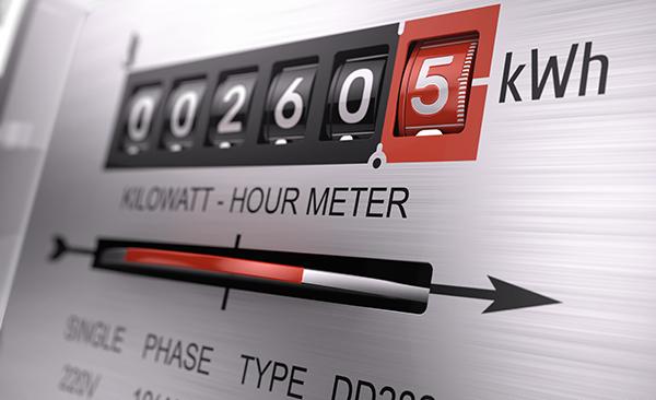 Business energy meter