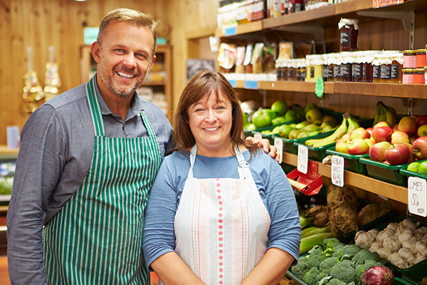 Funding for a happy couple to open a green grocers