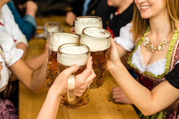 Bierfest is the great place to bring your business associates