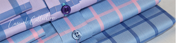 Close up of the fabric used in Grosvenor Shirts